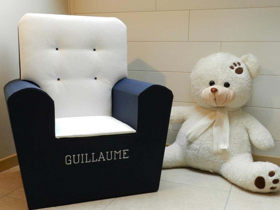 Fauteuil personnalisé Guillaume