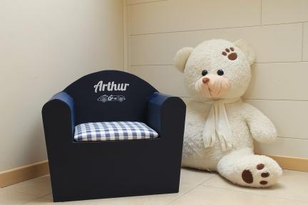 Fauteuil personnalisé «Arthur»