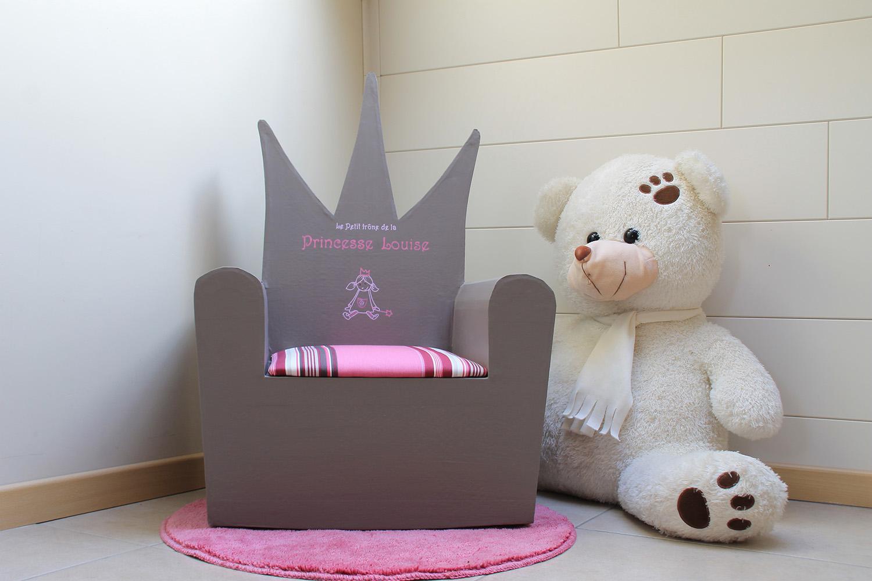 fauteuil personnalisé Louise