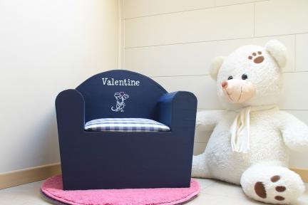 fauteuil personnalisé «Valentine»