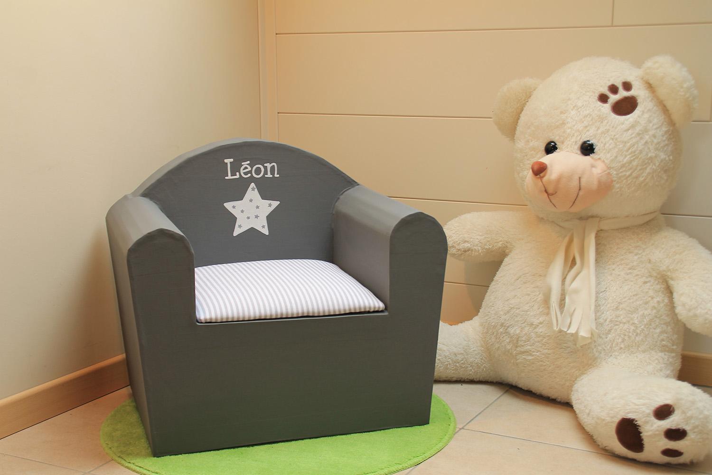 fauteuil personnalisé Léon